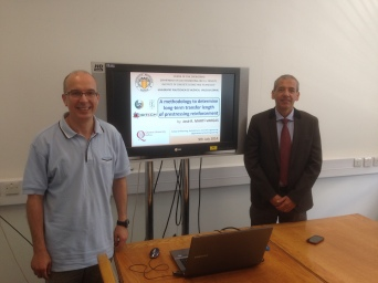 Prof Marti-Vargas (Spain) was invited to deliver a lecture on prestress losses.